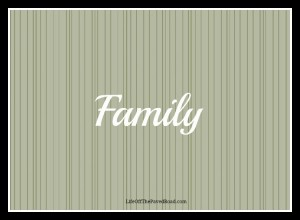 Family Page Header