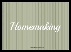 Homemaking Page Header