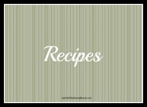 Recipes Page Header