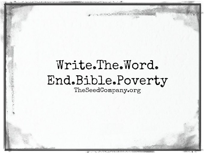 how to help to end bible poverty